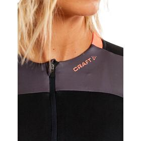 Craft Block Koszulka z krótkim rękawem Kobiety, black/shock